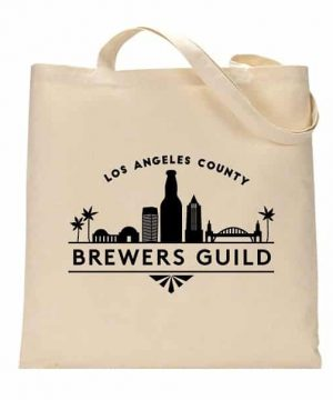 Los Angeles Co Brewer's Guild tote bag
