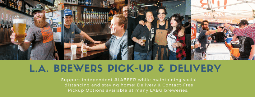 l.A. Brewers pick-up & Delivery